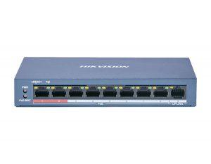 "DS-3E0109P-E/M(B) <span class=""prod-name-desc"">8 Port Fast Ethernet Unmanaged POE Switch</span>"